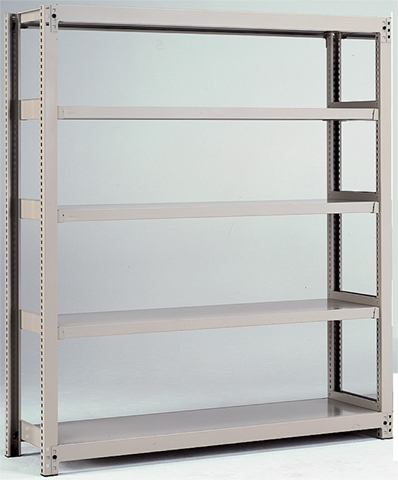 中量ラック 3MH-4345-4 物品棚 収納棚 スチール棚 LOOKIT オフィス家具 インテリア
