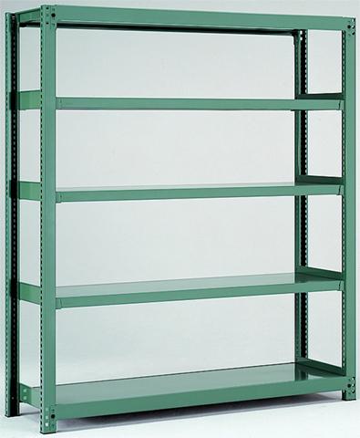 中量ラック 5MH-6660-5 店舗用 倉庫用 収納用 棚 ルキット オフィス家具 インテリア