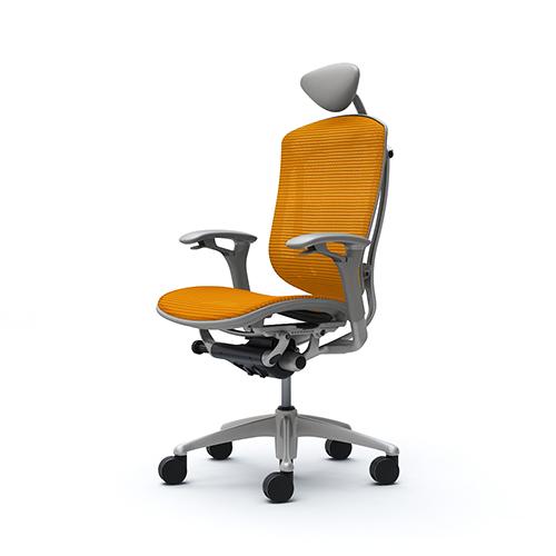 コンテッサ チェア オカムラ オフィスチェア 岡村製作所 肘付きチェア オフィス家具 ヘッドレスト付きチェア CM51SG 送料無料
