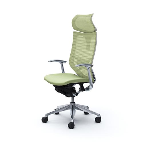 バロン チェア オカムラ オフィスチェア 岡村製作所 オフィス家具 椅子 デスクチェア メッシュ ヘッドレスト付き 肘付きチェア CP41BZ 送料無料