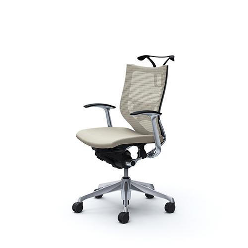 バロン チェア オカムラ オフィスチェア 岡村製作所 キャスター付き 回転椅子 ローバックチェア パソコンチェア デスクチェア シンプル CP44BS 送料無料