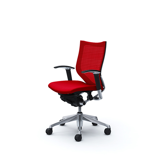 バロン チェア オカムラ オフィスチェア 岡村製作所 ローバック メッシュ キャスター付き パソコンチェア 椅子 デスクチェア シンプル CP83BR 送料無料
