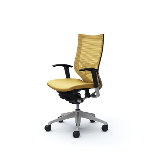 バロン チェア オカムラ オフィスチェア 岡村製作所 シンプル 椅子 オフィス家具 キャスター付き パソコンチェア ひじ付き カラフル CP85DS 送料無料