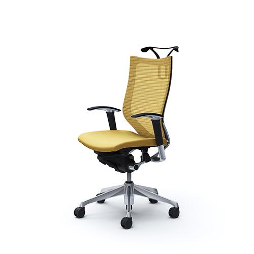 バロン チェア オカムラ オフィスチェア 岡村製作所 椅子 キャスター付き ひじ付き メッシュ パソコンチェア シンプル オフィス家具 CP86BR 送料無料