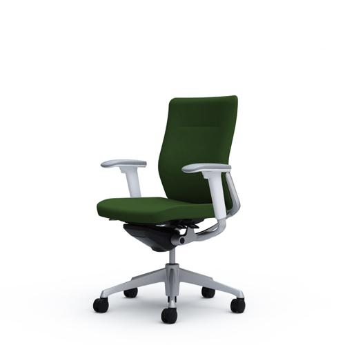 コーラル チェア オカムラ 送料無料 肘付きチェア ミドルバック オフィスチェア 事務椅子 オフィス家具 デスクチェア 椅子 CQ83GW-FS