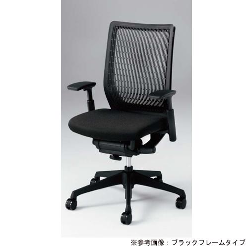 ヴィスコンテ チェア オカムラ 送料無料 グレーフレーム オフィスチェア デスクチェア オフィス家具 キャスター付き 肘付きチェア CW81BA-F