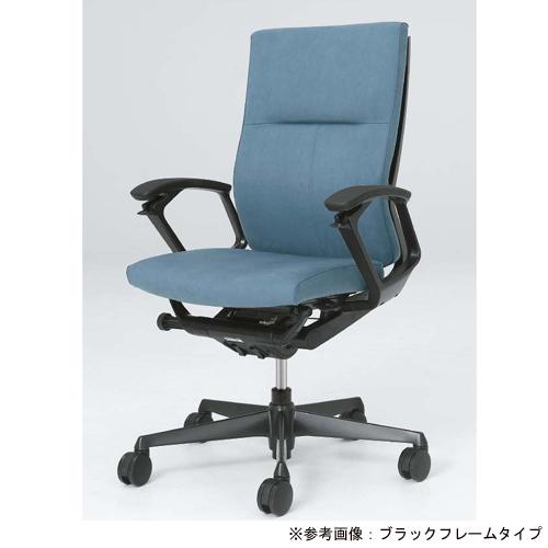デューク チェア オカムラ 送料無料 布張りチェア キャスター付き 肘付き オフィスチェア デスクチェア いす 高級 高機能 オフィス家具 CZ75ZR-FG