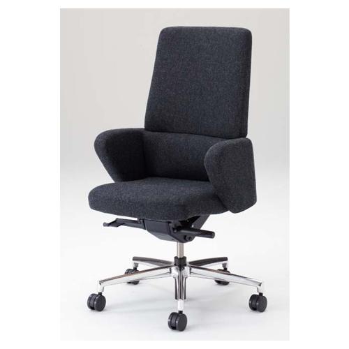 セフィーロ エグゼクティブチェア オカムラ 送料無料 ハイバックチェア ミーティングチェア 役員椅子 アーム付き デスクチェア 高級 会議室 L435SH-FS