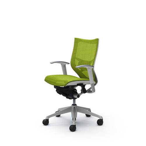 バロン チェア オカムラ オフィスチェア 岡村製作所 メッシュチェア 椅子 パソコンチェア キャスター付き オフィス シンプル カラフル CP83CZ 送料無料