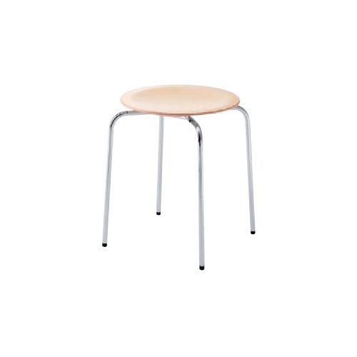 スツール 送料無料 スタッキングチェア 丸椅子 背なしチェア 肘なしチェア 店舗用品 業務用チェア 食堂 飲食店 教育施設 公共施設 8106SZ-M