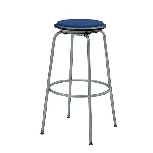 カウンターチェア 送料無料 回転スツール オフィス家具 ハイチェア ハイタイプ 丸椅子 スツール 飲食店 店舗 ミーティングスペース チェア 8110HF-FSN