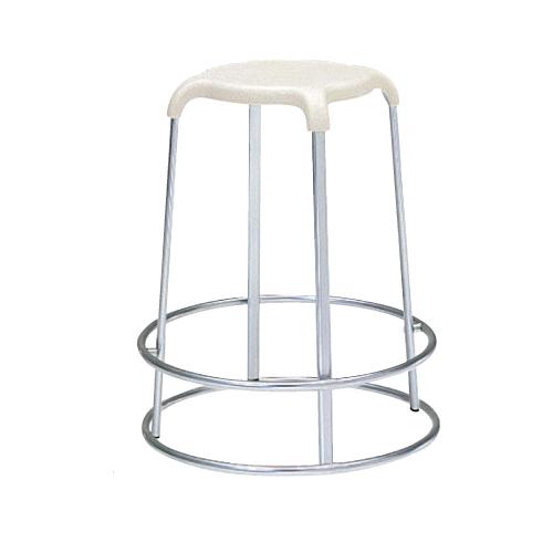 スツール 送料無料 足掛け付き 丸椅子 肘なしチェア 背なしチェア スタッキングチェア オフィス家具 店舗用品 食堂 ミーティングスペース 8110JH-G124