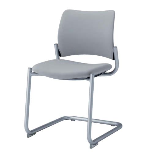 ミーティングチェア 送料無料 布製 テーブルチェア ファブリック ミーティングチェア デスクチェア パソコンチェア オフィスチェア 椅子 イス 8147CZ-F