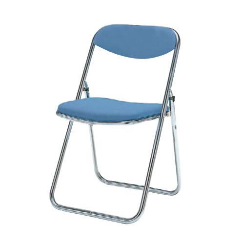 パイプイス 送料無料 布張りチェア 抗菌性 セーフティリンク構造 折りたたみ椅子 オフィスチェア オフィス家具 事務所 教育施設 8151DX-F