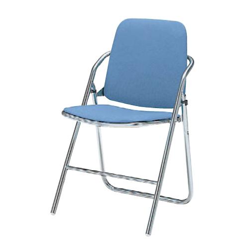 パイプイス 送料無料 布張りチェア 折りたたみチェア 折り畳み椅子 オフィスチェア オフィス家具 チェア 椅子 会議室 セミナー 講演会 8160DZ-F