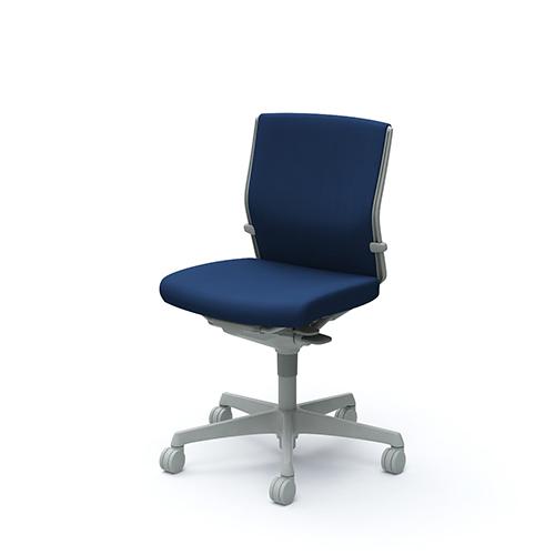 エスクード チェア オカムラ 布張りチェア 肘なしチェア ローバック デスクチェア オフィスチェア オフィス家具 送料無料 C433GR-FFW