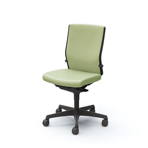 エスクード チェア オカムラ 送料無料 ビニールレザー張り クッションタイプ 肘なしチェア オフィスチェア デスクチェア オフィス家具 C435ZR-PB