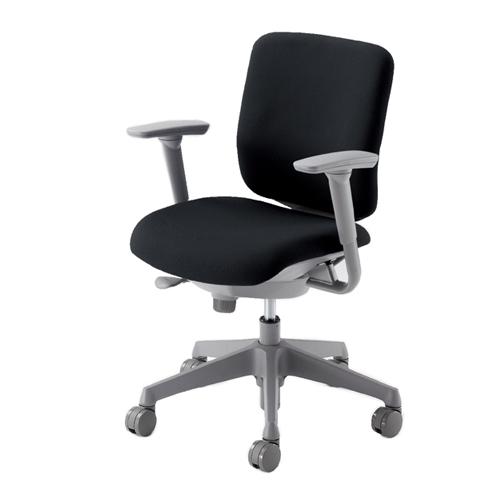 オフィスチェア オカムラ 送料無料 ローバックチェア 布張りチェア 可動肘付きチェア デスクチェア ミーティングチェア オフィスチェア 事務椅子 CN83GR-FM