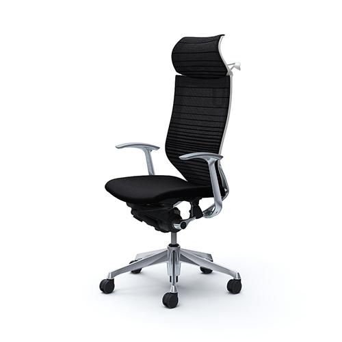 バロン チェア オカムラ オフィスチェア 岡村製作所 キャスター ひじ ハイバック パソコンチェア 椅子 メッシュチェア イス シンプル CP48BW-FGR 送料無料