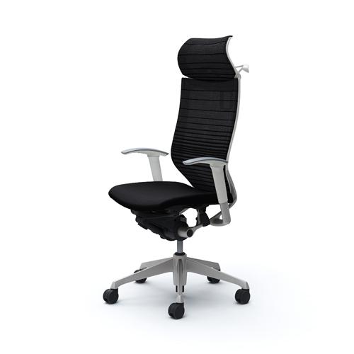 バロン チェア オカムラ オフィスチェア 岡村製作所 イス 椅子 パソコンチェア メッシュチェア キャスター付き 肘掛け シンプル CP88DW-FGR 送料無料