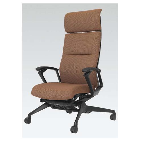ラクソス ミーティングチェア オカムラ 送料無料 リラックスチェア スエード調 ビジネスチェア ヘッドレスト オフィスシーティング オフィス家具 CZ37CR-FG