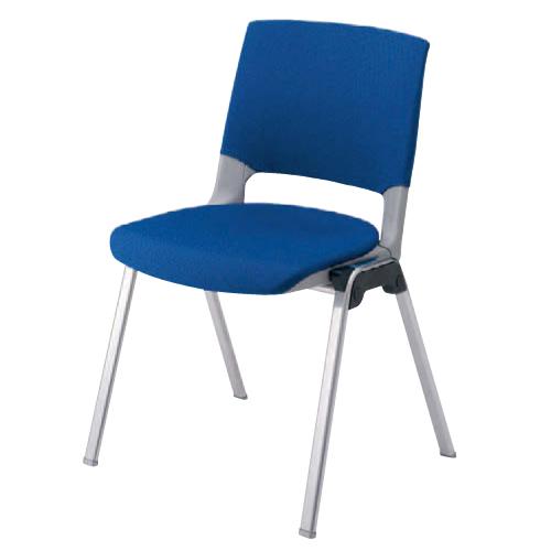 【全品P5倍6/10 13時~17時&最大1万円クーポン6/11 2時まで】スタッキングチェア 送料無料 布張り シンプル カラフル 会議 オフィスチェア デスクチェア 会社 ミーティングチェア パソコンチェア 椅子 イス HD12BZ-FB