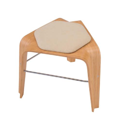 スツール 送料無料 背なしチェア 肘なしチェア ナチュラル おしゃれ モダン チェア 椅子 ミーティングチェア 応接スペース オフィス家具 事務所 L101FS-F