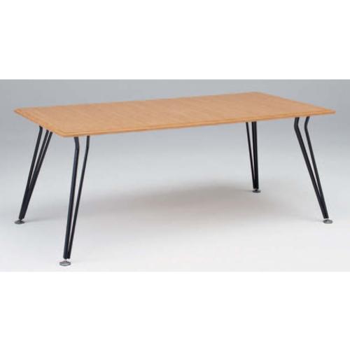 ミーティングテーブル 幅180×奥行90cm 送料無料 会議テーブル オフィステーブル 打ち合わせスペース 応接スペース テーブル 机 オフィス家具 L101TD-WC24