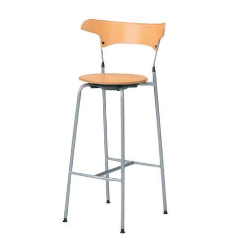 【4月9日20:00~16日1:59まで最大1万円OFFクーポン配布】 カウンターチェア 送料無料 ハイチェア 木製チェア ナチュラル オフィスチェア 打ち合わせスペース 休憩スペース チェア 椅子 ハイタイプ L137AH-W681