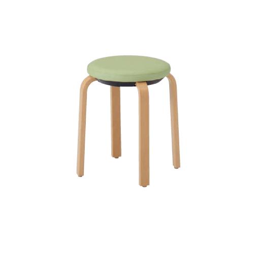 スツール 送料無料 丸スツール 丸椅子 スタッキングチェア 背なしチェア 肘なしチェア ミーティングスペース 休憩スペース 飲食店 LY93ZR-PB