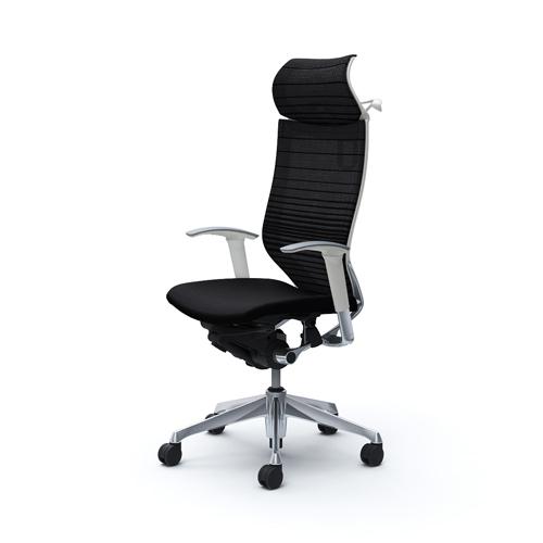 バロン チェア オカムラ オフィスチェア 岡村製作所 シンプル メッシュチェア パソコンチェア キャスター 肘掛け 椅子 ハイバック CP88BW-FGR 送料無料