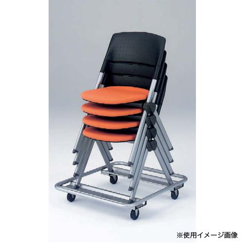 台車 送料無料 オフィスチェア収納 チェア収納 イス収納 椅子収納 専用ドーリー ミーティングチェア収納 専用台車 会議室 収納用台車 オフィス家具 H161DR-Z32