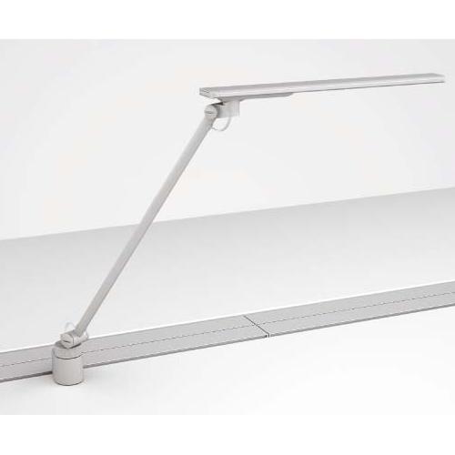 デスクライト LED クランプ 卓上ライト 照明 LEDタスクライト シルバー 送料無料 DD67LA-Z750