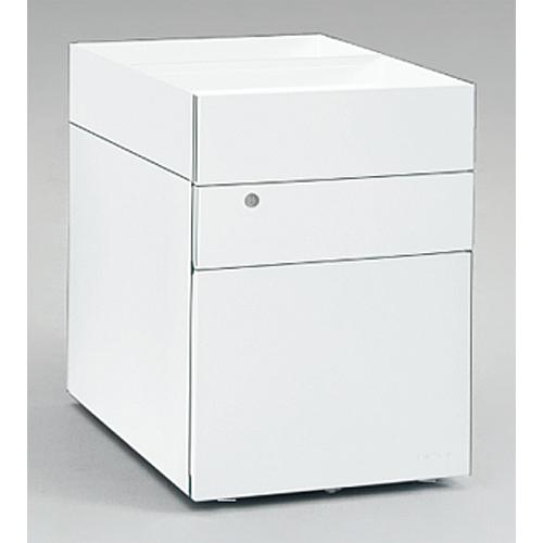 スイフトワゴン 3段 オープンボックスタイプ A4ファイル対応 仕切付き サイド把手 スイフト Swift サイドワゴン 送料無料 DN33BB