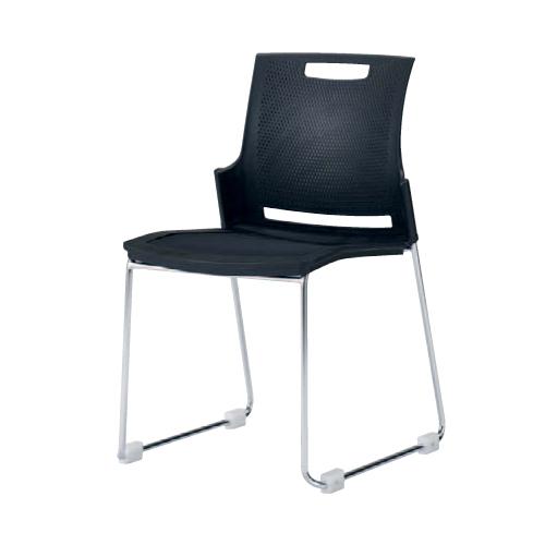 スタッキングチェア 送料無料 施設 ミーティングチェア デスクチェア パソコンチェア オフィスチェア 椅子 イス カラフル シンプル 会社 会議 9315GM-FEY5
