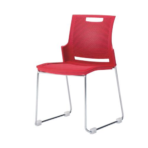 【最大1万円クーポン3/21 20:00~3/28 1:59】スタッキングチェア 送料無料 オフィスチェア 椅子 イス カラフル シンプル ミーティングチェア デスクチェア パソコンチェア 会社 会議 施設 9315RM-FEY7