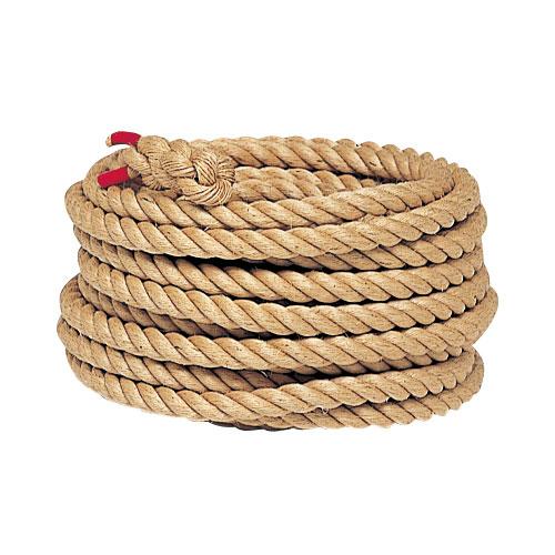 【法人限定】綱引きロープ 1m当たり 直径45mm 高校・一般用 麻 綱引き 運動会用品 綱 ロープ 体育用品 教育施設 綱引きロープ45 B2003