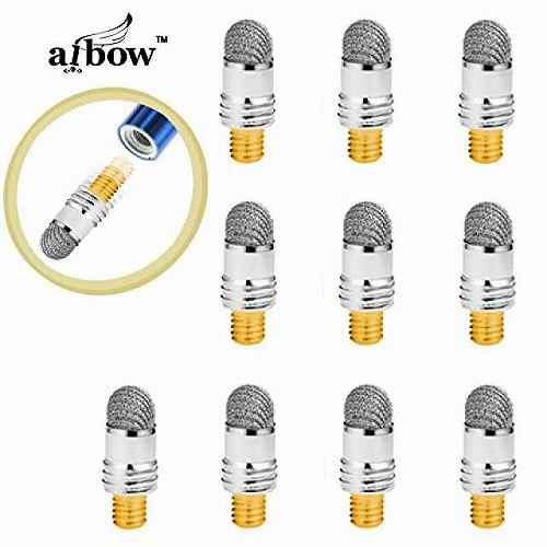 ペン先はそのままでペンキャップ対応にリニューアル致しました 旧型商品をご利用のお客様もそのままご利用いただけます 細ペン型タッチペンの交換用ペン先10個… aibow ピンポイントタッチ 細ペンタイプ 当店限定販売 交換用ペン先 10個セット iPhone など全ての静電容量式タッチパネルに対応abw-ps2 スマホ 高品質新品 スタイラスペン タブレットPC 特殊導電繊維 iPad