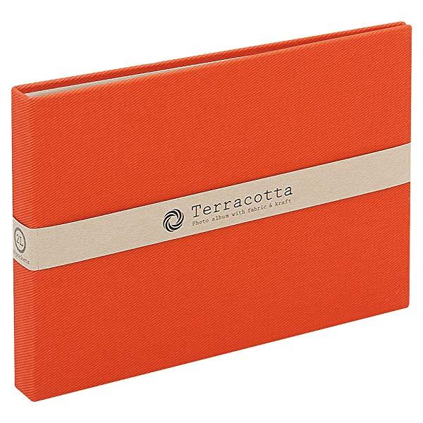 タイプ:レッド 2L ナカバヤシ ファイル ポケットアルバム TER-2LP-85-R 送料無料 レッド テラコッタ 新商品 新型 2L判 おすすめ