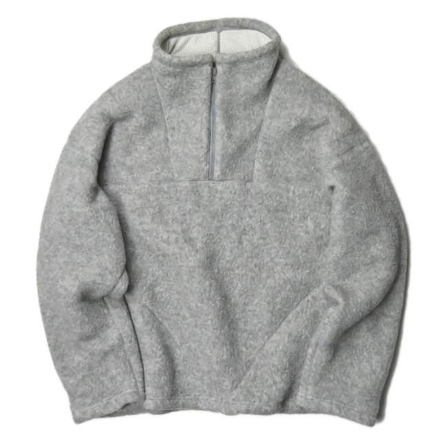 UNUSED アンユーズド 17AW 日本製 POLARTEC Pullover Fleece Jacket プルオーバーフリースジャケット US1327 3 グレー アノラック アウター【中古】【UNUSED】
