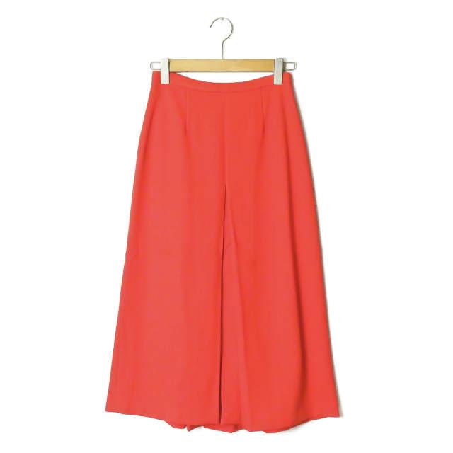 APIECE APART アピースアパート アメリカ製 Isabel Double V Skirt ダブルVカットロングスカート AA35301 4 オレンジ ボトムス【中古】【APIECE APART】