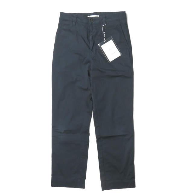 Acne Studios アクネストゥディオズ 19SS Slim-fit cotton trousers スリムフィット ペインターパンツ FN-MN-TROU000049 44 ネイビー テーパード チノパンツ ルーマニア製 ボトムス【中古】【Acne Studios】