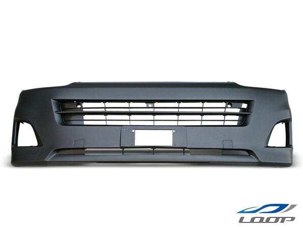 ハイエース 200系 3型 標準ボディ用 フロントバンパー バンパーインナーグリル セット H22.8~H25.11(SE80)