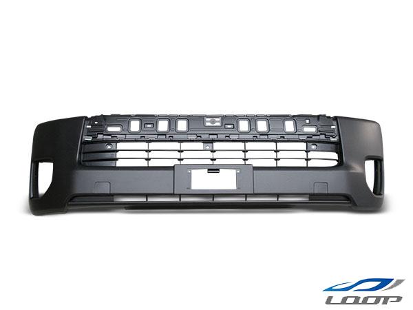 ハイエース 200系 4型 ワイドボディ用 フロントバンパー バンパーインナーグリル セット H25.12~