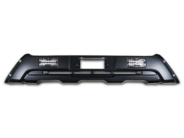 4型 5型 標準 フロントバンパーガード ハイエース 200系 LEDデイライト付き H25.12~