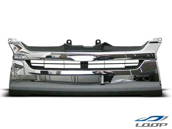 ハイエース グリル パーツ レジアスエース 200系 4型 標準ボディ用 純正タイプ メッキグリル H25.12~