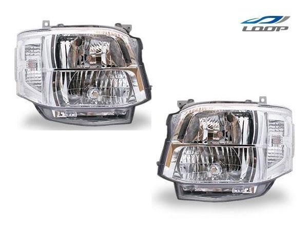 ハイエース 200系 パーツ ヘッド レジアスエース 3型 純正タイプHIDヘッドライト 4灯式 H22.8~H25.12