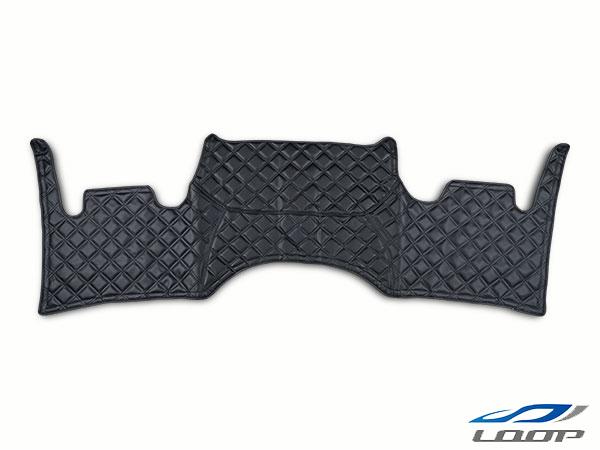 ハイエース 200系 パーツ シート ワイドボディ S-GL専用 フロントデッキカバー ブラックステッチ H16~