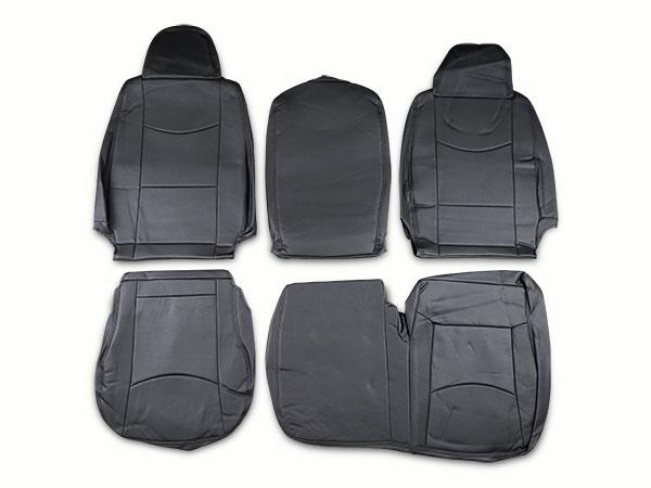 ハイエース 200系 DX専用 パンチングレザー シートカバー フロント用 H16~