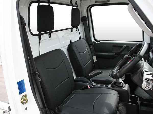 スズキ キャリイトラック DA16T マツダ スクラムトラック DG13T 日産 クリッパートラック DR16T パンチングレザー シートカバー 1705#